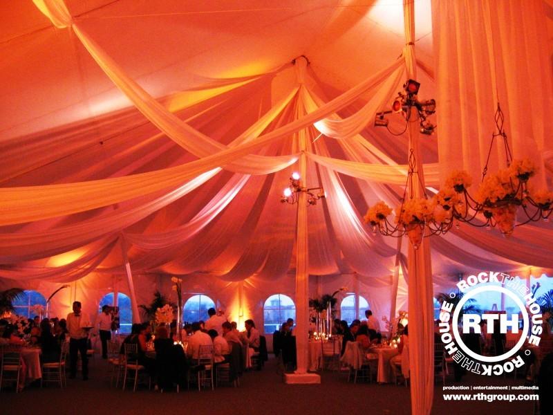 wedding night decor