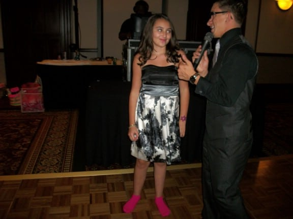 cleveland djs emcee and interact with guests at bat mitzvah
