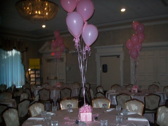 dance pink themed bat mitzvah
