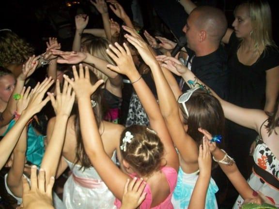 dj hosts dance party at bat mitzvah