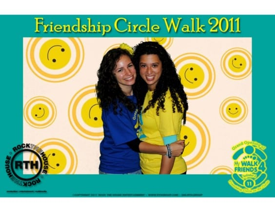green screen photo booth for fundraiser