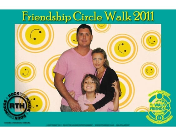 photo booth rental for fundraiser walk in cleveland