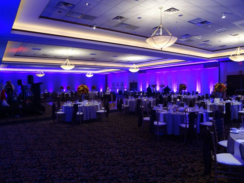 Cleveland Wedding Lighting at Embassy Suites in Independence - Rock ...