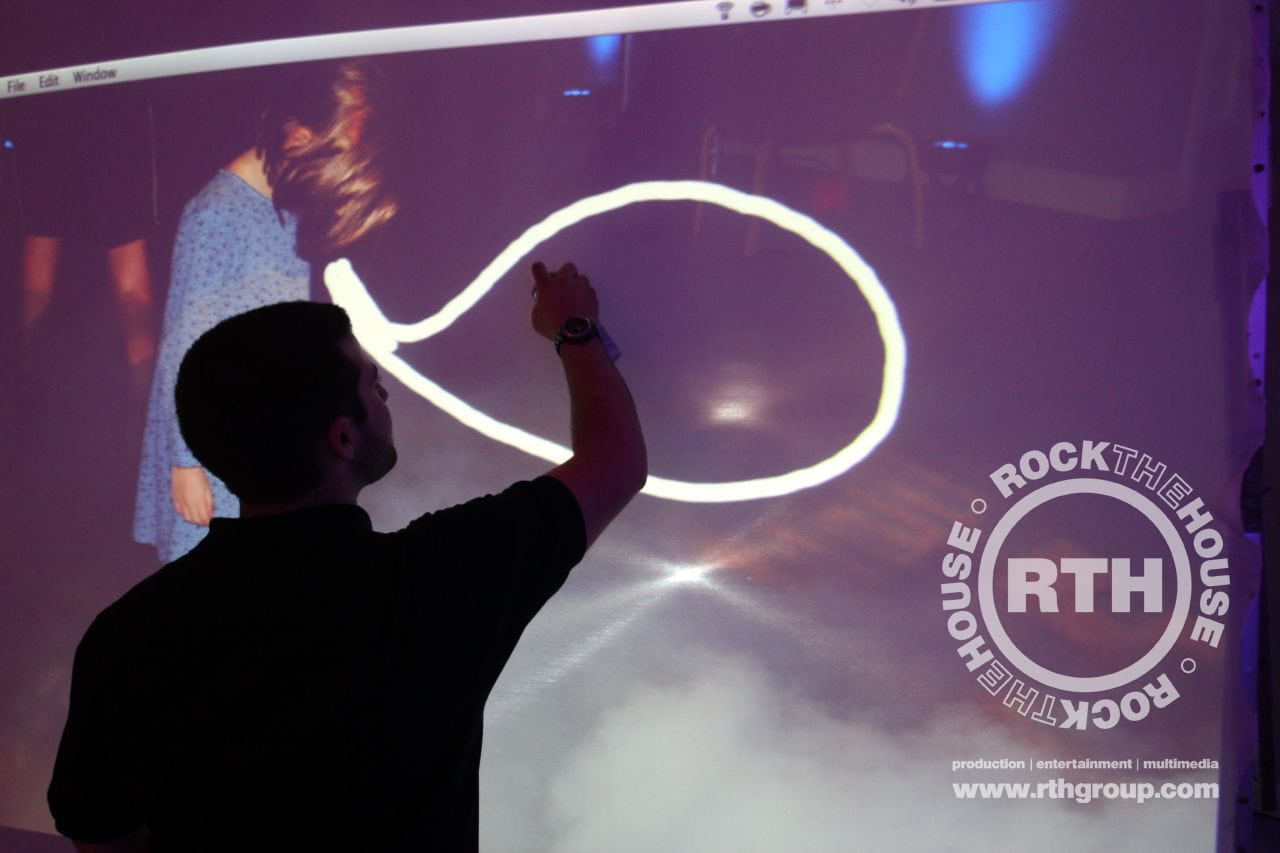 Gobo photo booth