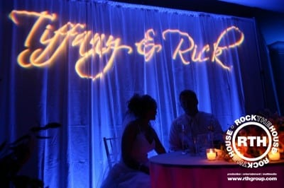 Uplights Wedding Cleveland
