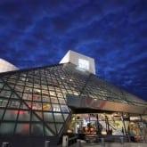 Night facade Cleveland
