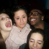 Dance floor party teen mitzvah