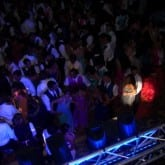 prom dance high school lighting dj