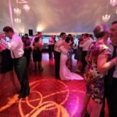 Gobo Monogram Dance Floor Production