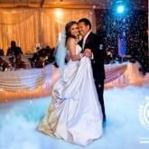 wedding dis lighting