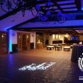wedding monogram lasers