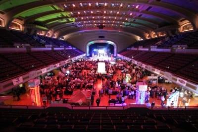 public hall event production rock