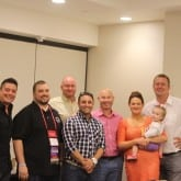 SEARCH Foundation Board Members and ISES President, Kevin White, CSEP