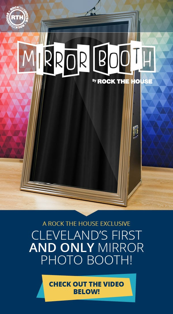 Cleveland Mirror Booth Rental - Mirror Photo Booth