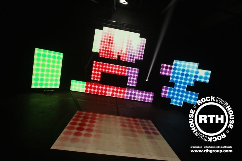 Rock The House Extra Entertainment LED Panels