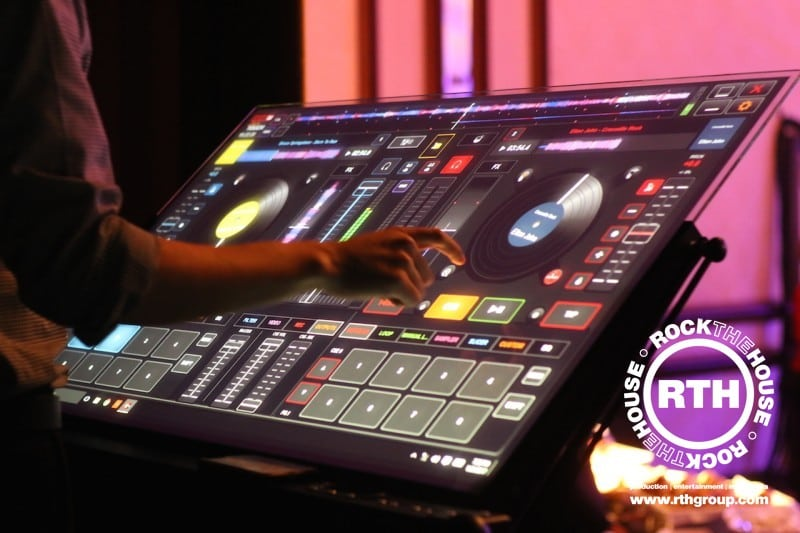 Rock The House Interactive Touch Screen DJ System
