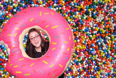 Tricia Adams Rock The House Production Assistant - Donut Photo