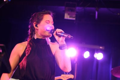 Amanda Corrigan, Singer of Rock The House Live!