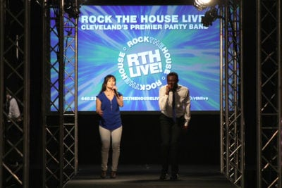 Rock The House LIVE perform at Today's Bride Wedding Show