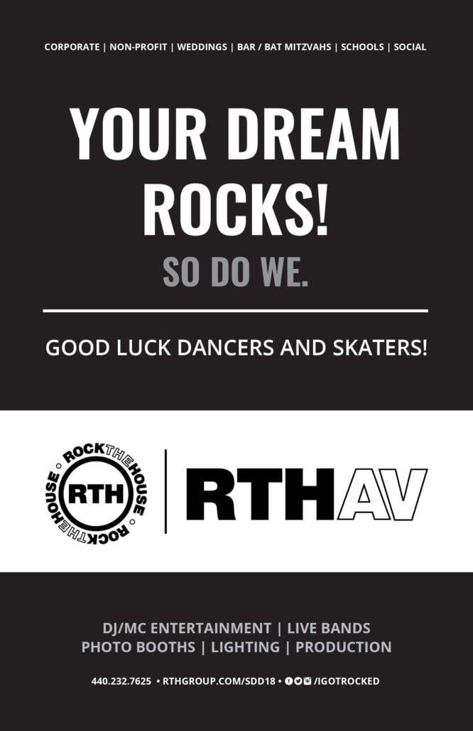 Rock The House Skate Dance Dream Program Ad 2