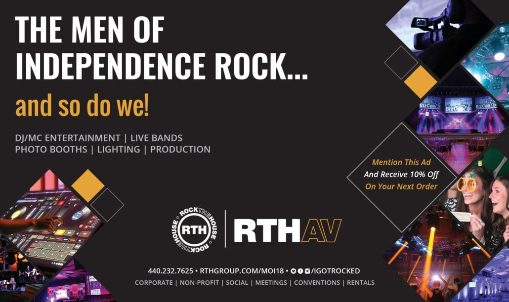 Rock The House Men of Independence Program Ad 2018