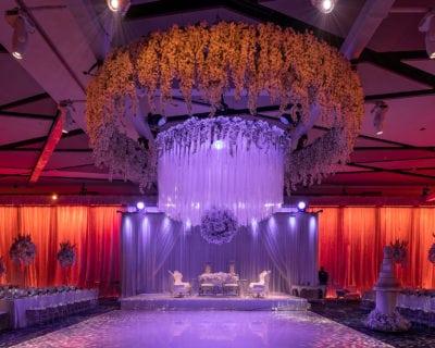 Rock The House Cleveland Wedding Lighting