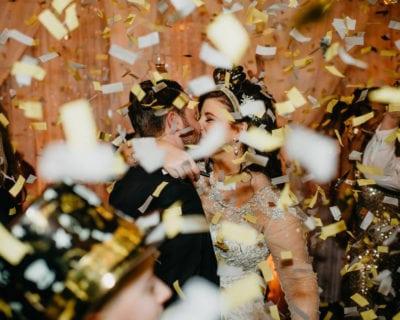 Rock The House, Cleveland Wedding Entertainment, Confetti Drop
