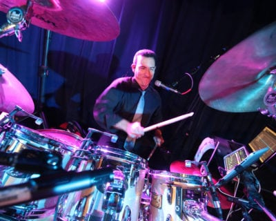 Rock The House Live, Cleveland Wedding Band, Drummer Image