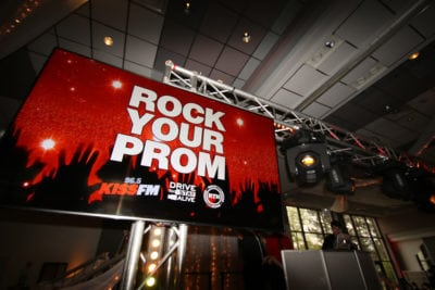 Rock Your Prom Sign - Rock The House Cleveland DJs