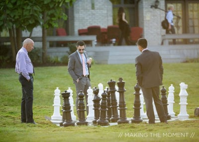Rock The House, Giant Games & Yard Games - Giant Chess - Image by Making the Moment