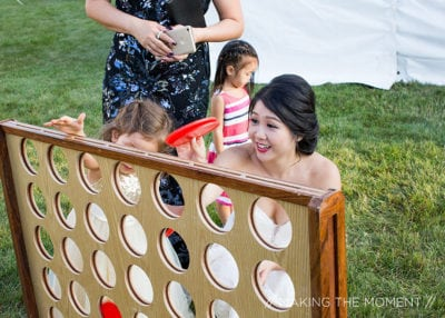 Rock The House, Giant Games & Yard Games - Giant Connect Four - Image by Making the Moment