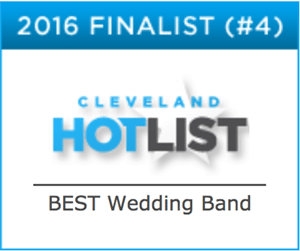 CLEVELAND WEDDING BAND, ROCK THE HOUSE LIVE! - Cleveland Hot List 2016