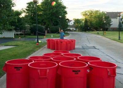Rock The House, Giant Games & Yard Games - Red Cup Shoot Out