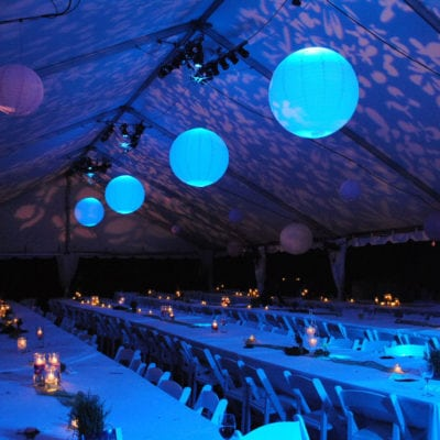 HOLIDAY PARTY ENTERTAINMENT - WINTER BLUE LIGHTING