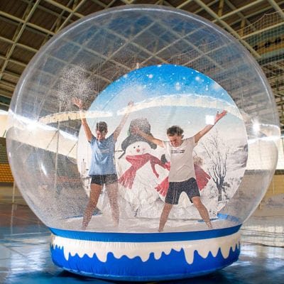 HOLIDAY PARTY ENTERTAINMENT - GIANT SNOW GLOBE