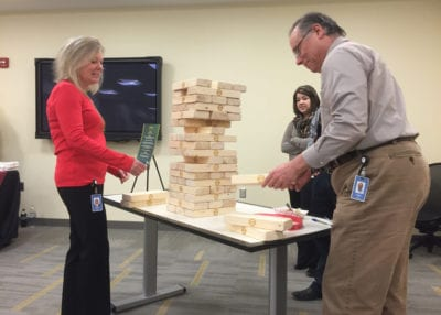ROCK THE HOUSE - COMPANY PARTY GAMES, GIANT JENGA