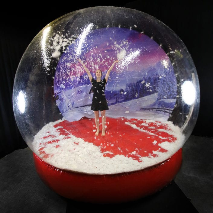 ROCK THE HOUSE - GIANT SNOW GLOBE