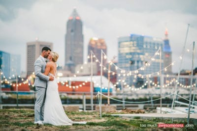 CLEVELAND WEDDING LIGHTING - BISTRO LIGHTING