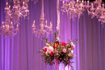 CLEVELAND WEDDING LIGHTING - CHANDELIERS