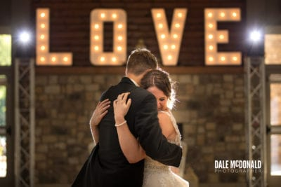 CLEVELAND WEDDING LIGHTING - LOVE LETTERS