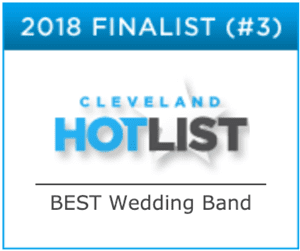 CLEVELAND WEDDING BAND, ROCK THE HOUSE LIVE! - Cleveland Hot List 2018 Finalist