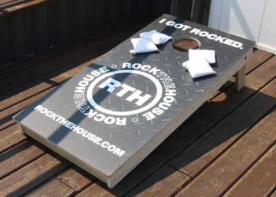 ROCK THE HOUSE - CORNHOLE