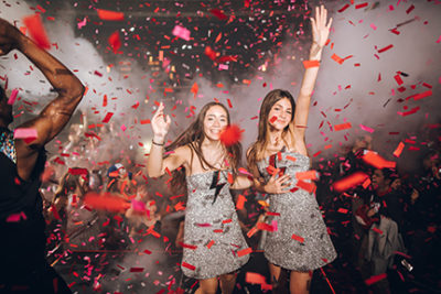 BAR / BAT MITZVAH ENHANCEMENTS - CONFETTI DROP