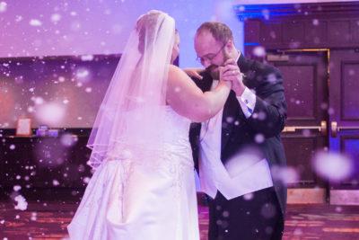 RTH WEDDING ENHANCEMENTS - SNOW MACHINE
