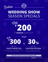 RTH WEDDINGS SHOW SPECIALS