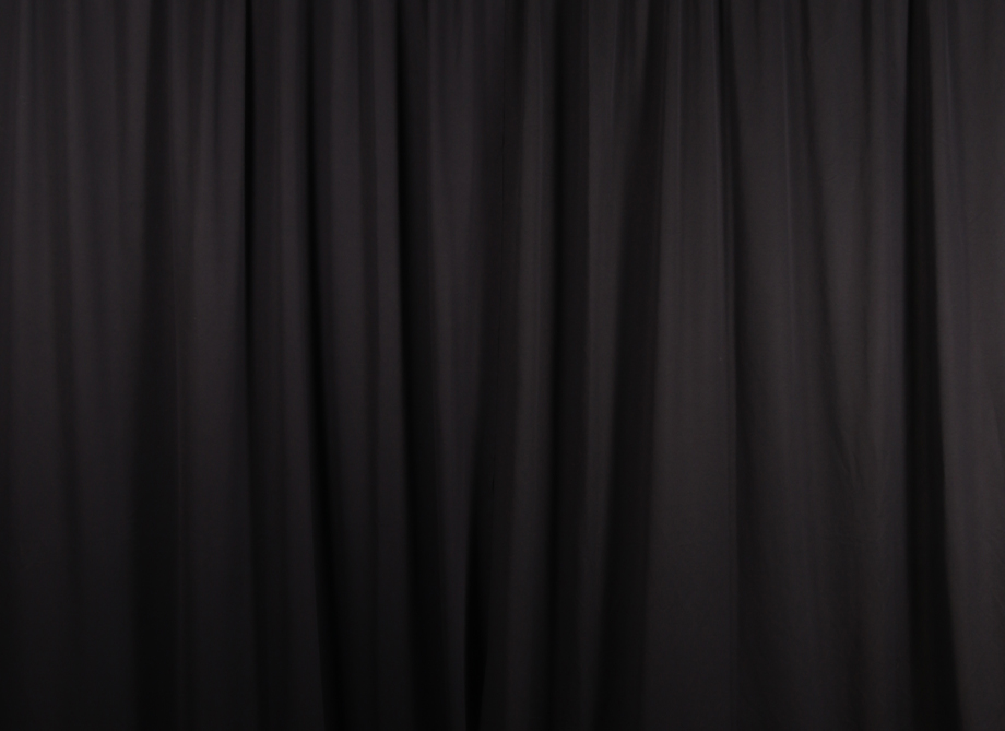 RTH Photo Booth Backdrops - Black Drape