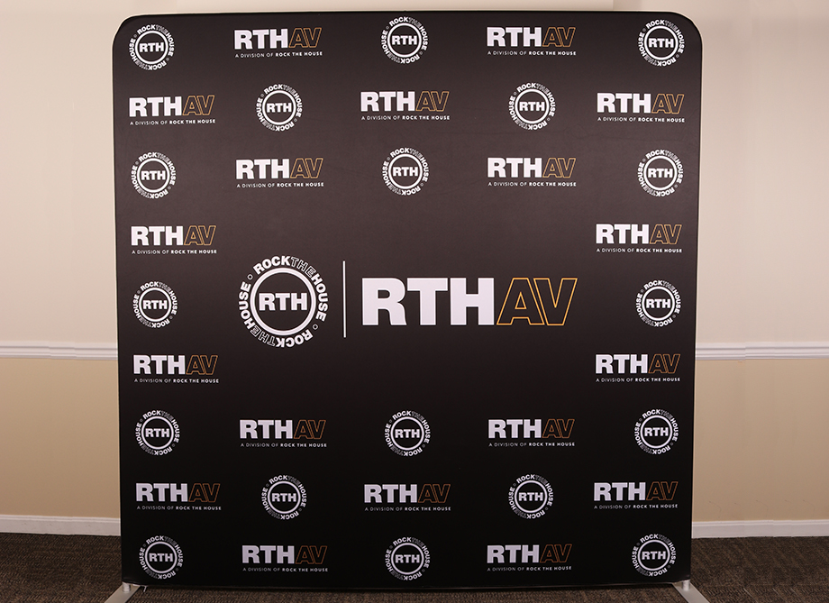 RTH Photo Booth Backdrops - Custom Step And Repeat