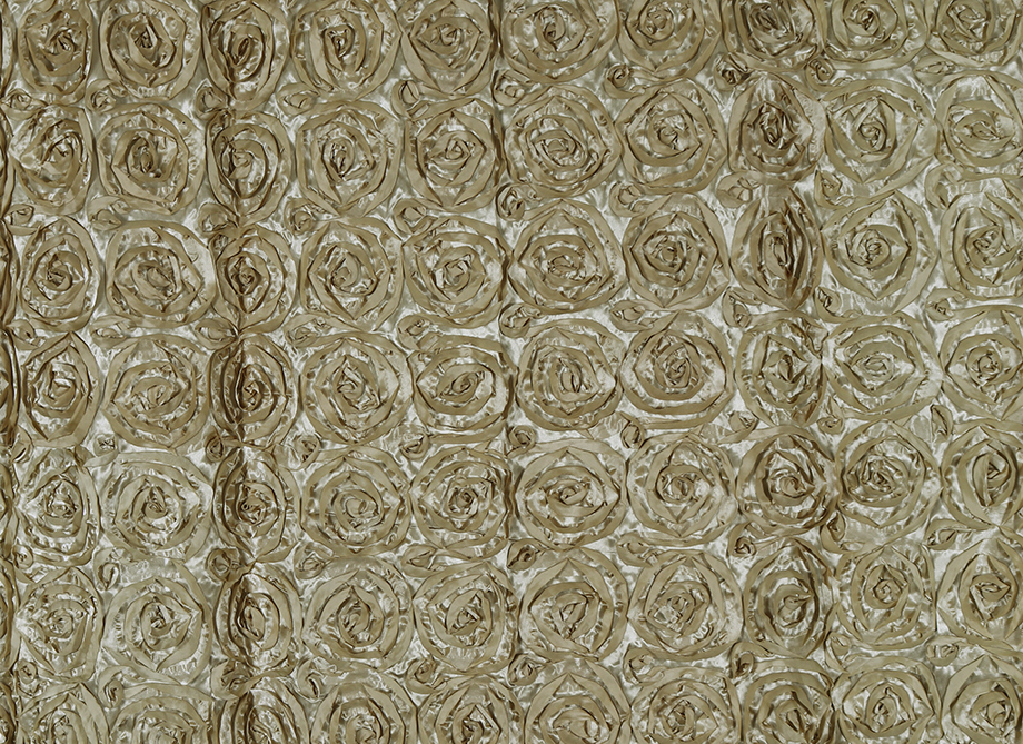 RTH Photo Booth Backdrops - Gold Rosette