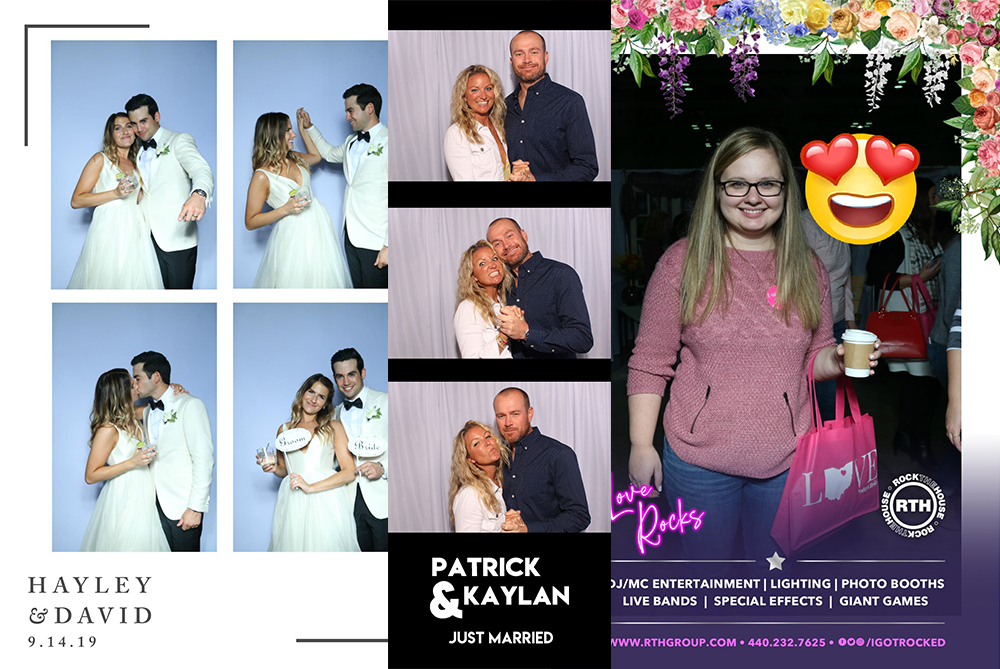 RTH Photo Booths - Photo Layout