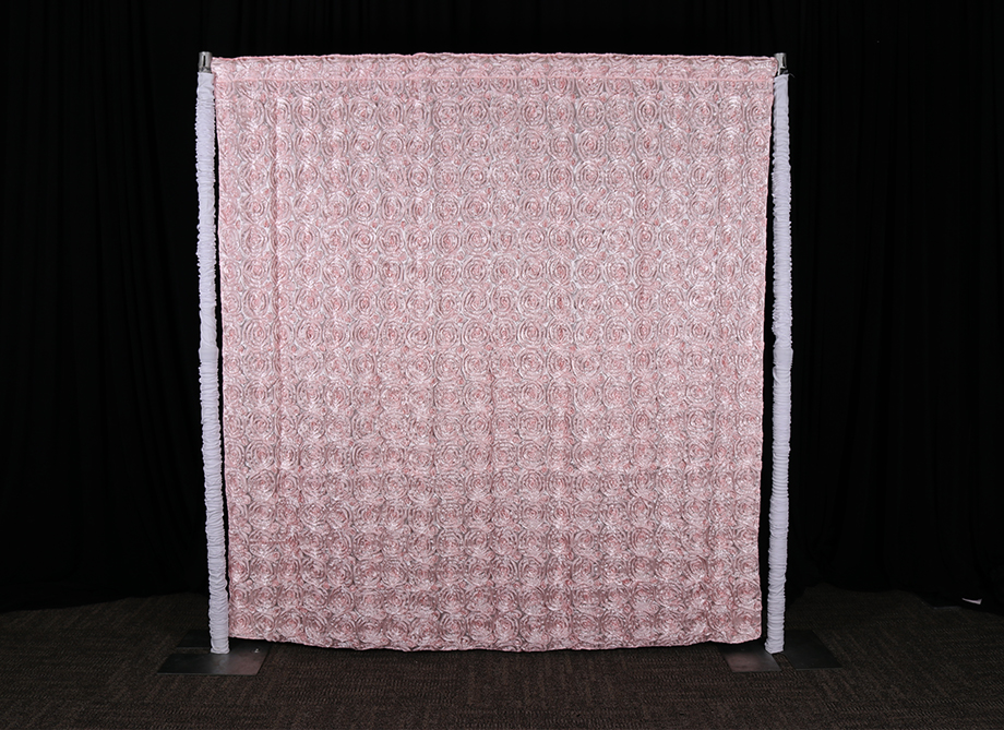 RTH Photo Booth Backdrops - Pink Rosette